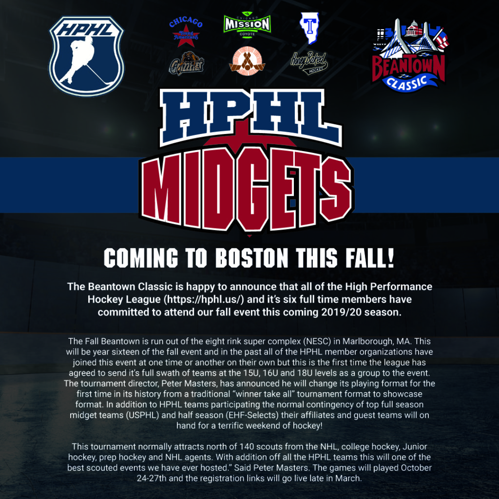 High Performance Hockey League